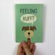 'Feeling Ruff?' Get well soon card