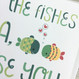 Of all the fishes in the sea personalised valentines card