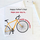 Wink Design Bicycle Pun Fathers Day Card
