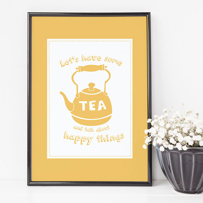 Let's have some tea Print