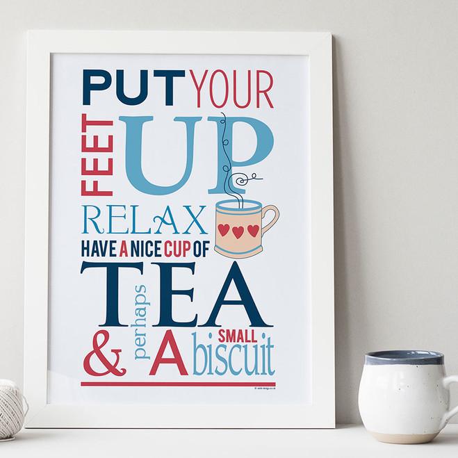 Tea and Biscuit Print