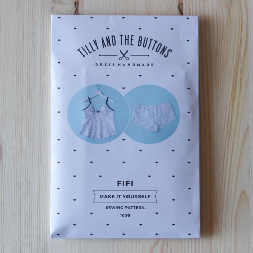 Fifi Pyjamas by Tilly and the Buttons | Blackbird Fabrics