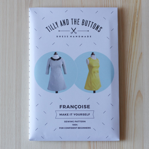 Françoise Dress by Tilly and the Buttons | Blackbird Fabrics