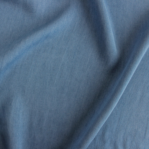 Viscose Denim - Light Blue Wash | Blackbird Fabrics
