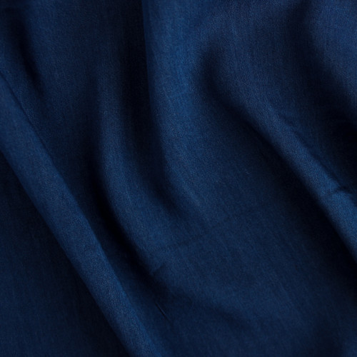 Viscose Denim - Dark Blue Wash  | Blackbird Fabrics
