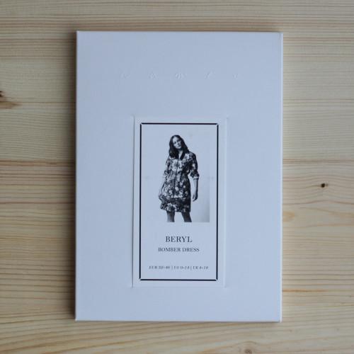Beryl Bomber Dress by Named Clothing | Blackbird Fabrics