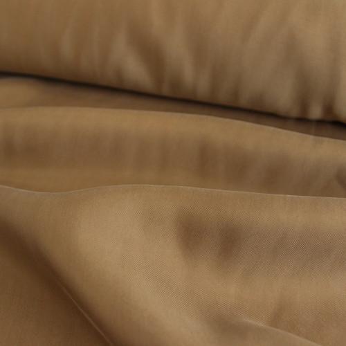 Cupro & Viscose Twill - Bronze   Blackbird Fabrics