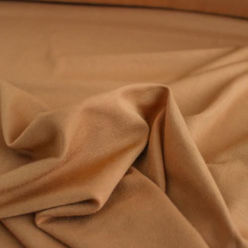 Bamboo Jersey Knit - Butterscotch   Blackbird Fabrics