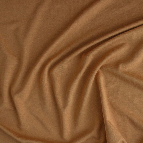 Bamboo Jersey Knit - Butterscotch | Blackbird Fabrics