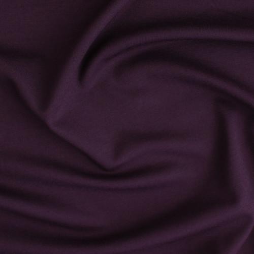 Ponte de Roma Knit - Deep Plum | Blackbird Fabrics