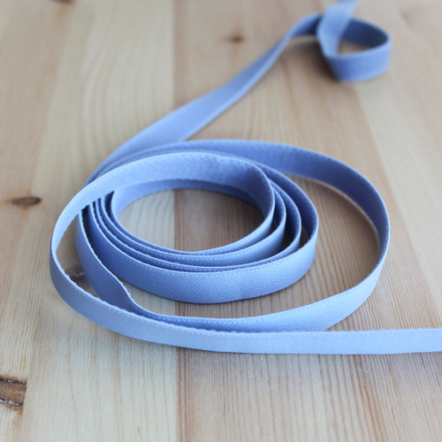 """1/2"""" (12mm) Elastic Strapping - Grey Blue - 1 meter"""