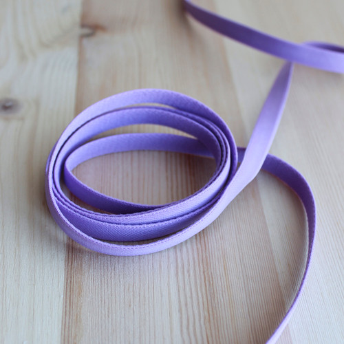 """3/8"""" (9mm) Elastic Strapping - Orchid - 1 meter"""