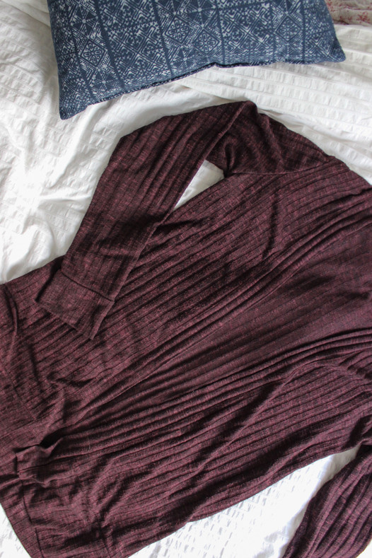 Blackwood Cardigan in Ribbed Sweater Knit