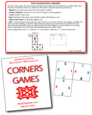 Corner Games