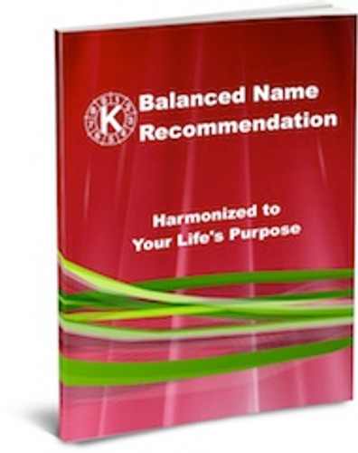 Balanced Name Recommendation - Adult - Best Choice Package with Online Course, Cycle Charts, and Consultation