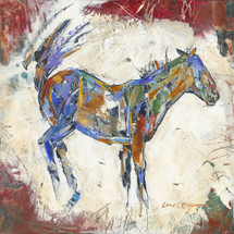 Horses - Oil and Wax - Red Scratch Buck