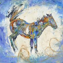 Horses- Oil and Wax - Sky Blue Buck