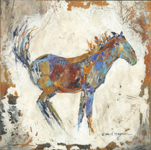 Horses - Oil and Wax - Pregnant Mare