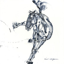 Side Kick horse painting