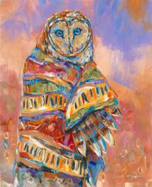 Owl Shaman 4 - Limited Edition Print