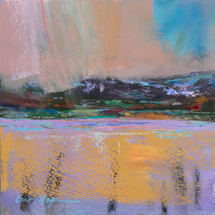 Summer Rain Over Flathead Lake - Limited Edition Print
