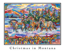 Christmas in Montana 2015 - Greeting Cards