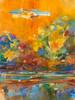 Powder River Autumn painting