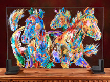 Heyday Glass Horses original
