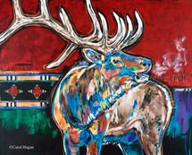 """The Bugler"" Metal print by Carol Hagan."