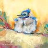 """""""Little Boy Blue"""" print on metal by Carol Hagan."""
