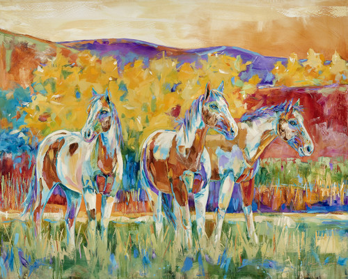 Tall Summer Grass - Limited Edition - Horses