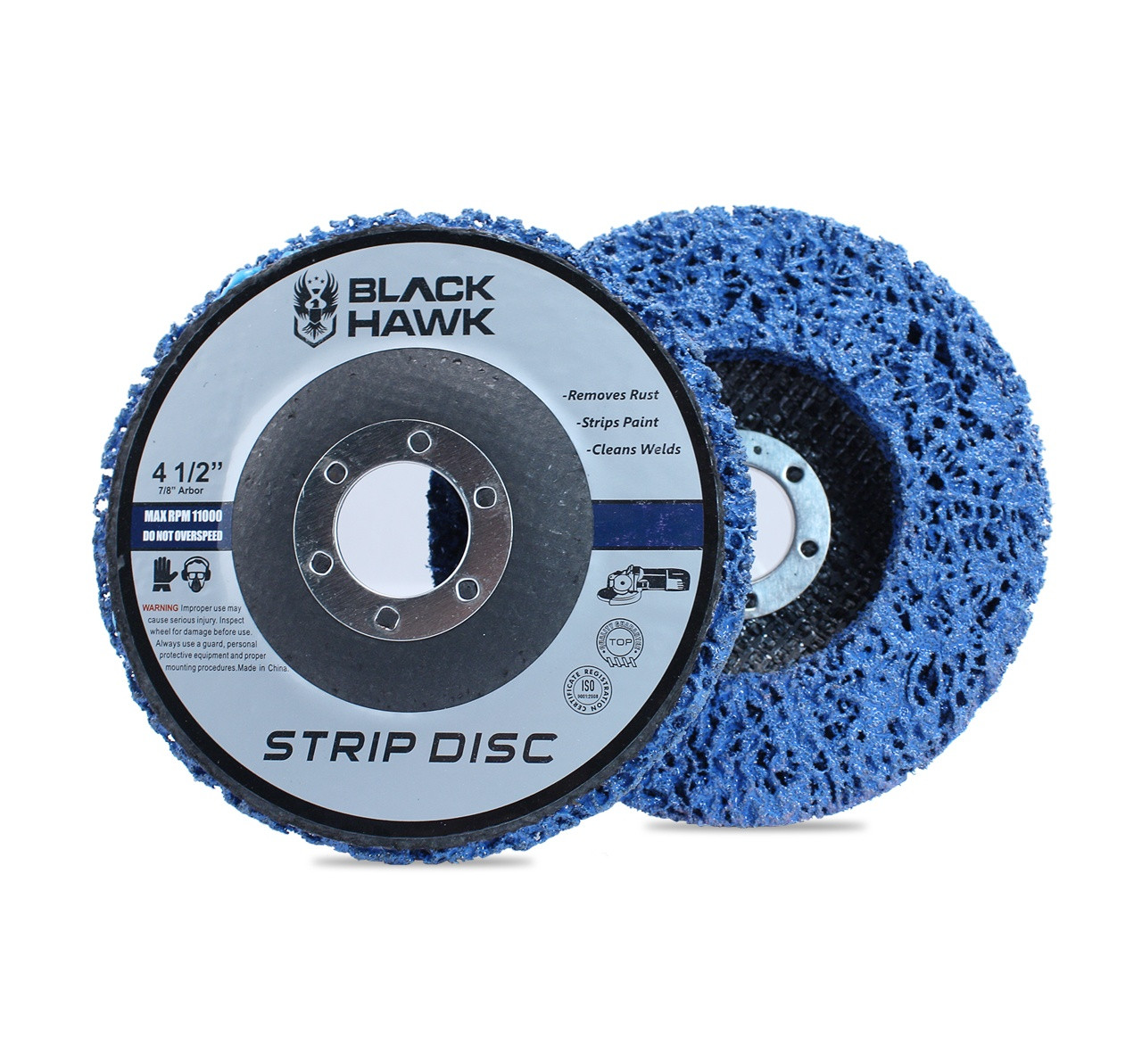 4 5 Quot Easy Strip Amp Clean Discs Paint Amp Rust Remover For