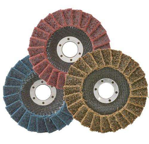 Scotch brite flap discs