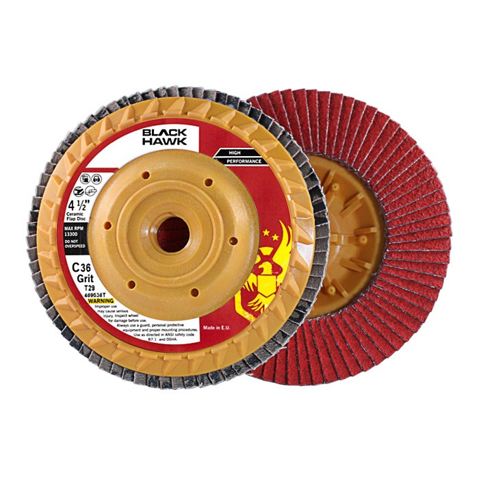 4 5 Quot Trimmable Ceramic Flap Disc T27 Flapper Wheels For