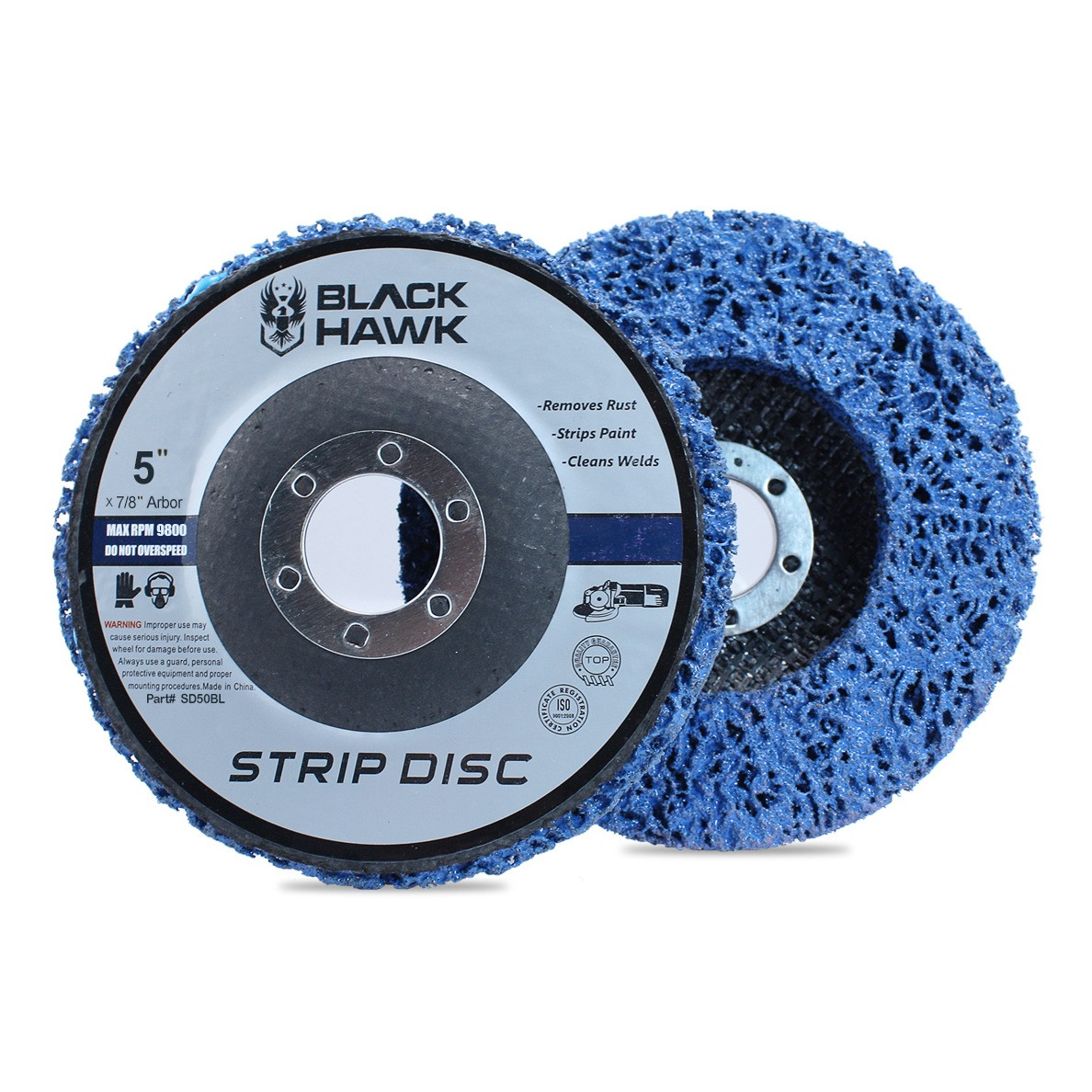 blue clean and strip disc