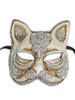 Venetian mask Gatto Mac Craquele