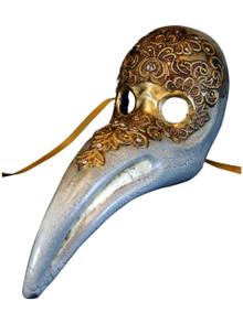 Venetian mask Dottore Peste Mac Craquele