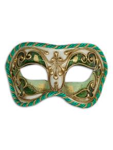 Venetian mask Colombina Cordone