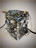 Venetian metal mask Bauta Psycorg