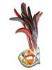 Authentic Venetian Mask Colombina Piume Ron