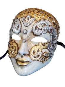Authentic Venetian Mask Volto Art Deco Mac