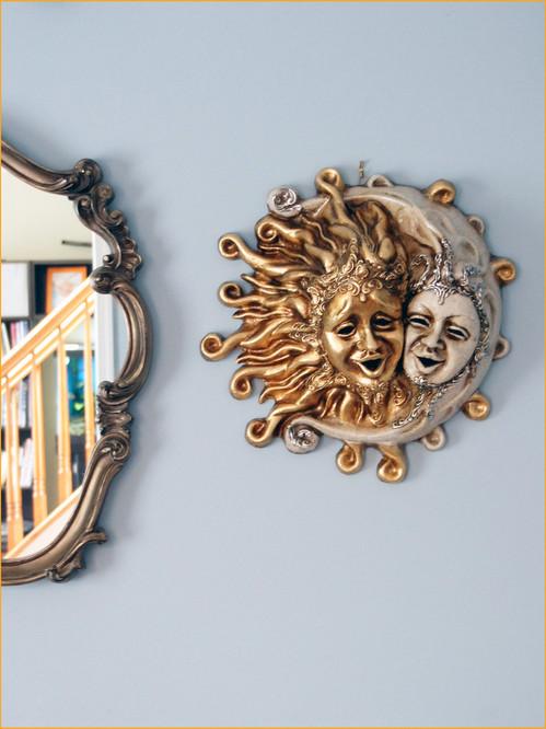 Venetian Mask Sole E Luna