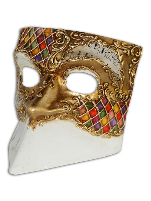 Authentic Venetian Mask Bauta Matteo