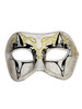 Authentic Venetian Mask Colombina Victoria