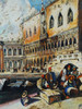 Authentic Venetian Wall Decor Sole E Luna Venezia