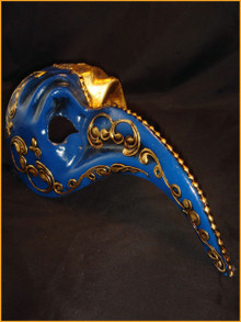 Authentic Venetian mask Zan Turco Ducale
