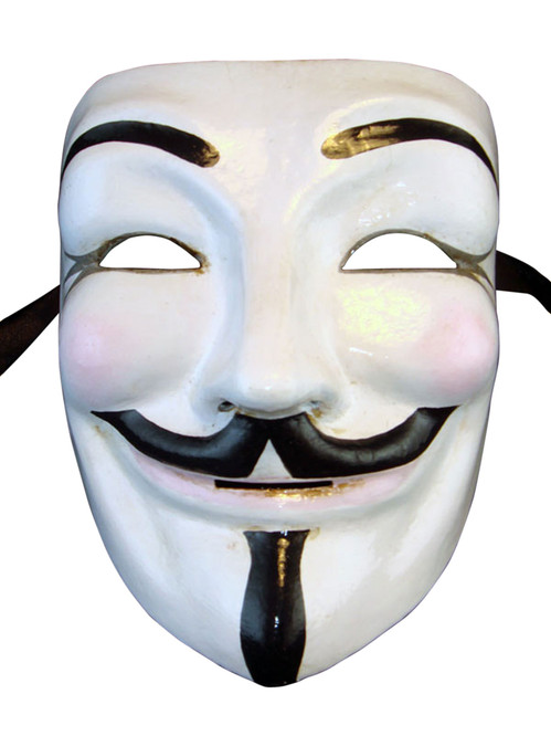 Authentic Venetian mask V for Vendetta  sc 1 st  Magic of Venezia & Authentic Venetian paper mache mask Volto Vendetta