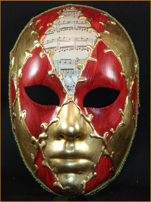 Authentic Venetian mask Volto Ron