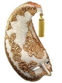 Authentic Venetian mask Luna Atlantide