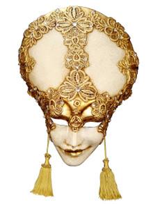 Authentic Venetian mask Liberty Mac Craqule